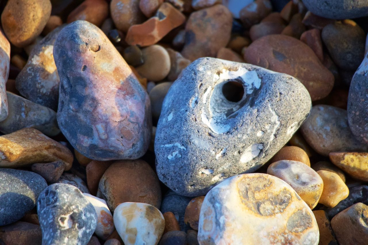 Hagstones: the sea's beautiful gift